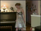 Teen makes prom dress out of soda tabs