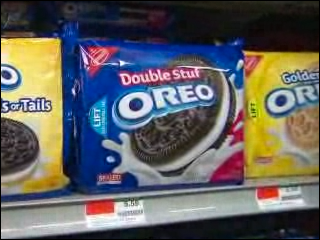 Just how stuffed are Double Stuf Oreos?