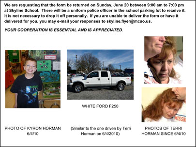 One more assignment before summer: Help find Kyron