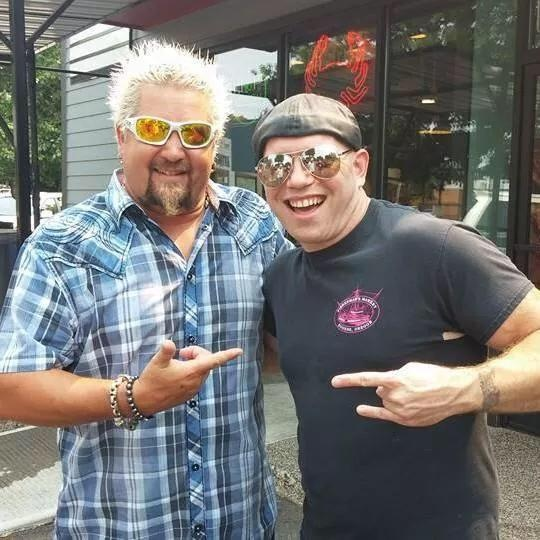 Food Network star visits local restaurants