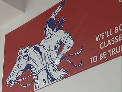 Warrior mascot up for debate: 'You can degrade, or you can honor'