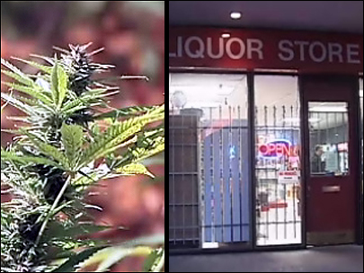 Pot vs. alcohol: What are the costs - and revenues?