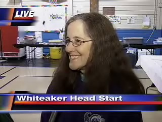 Organizer, Beverly Farfan at Whiteaker Head Start