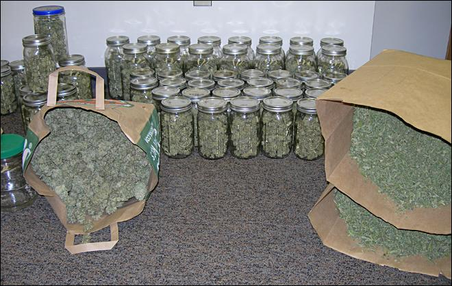 Police seize $64K worth of marijuana from Grand Ronde home