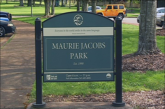 9-1-1 caller reports cougar and cub at Maurie Jacobs Park
