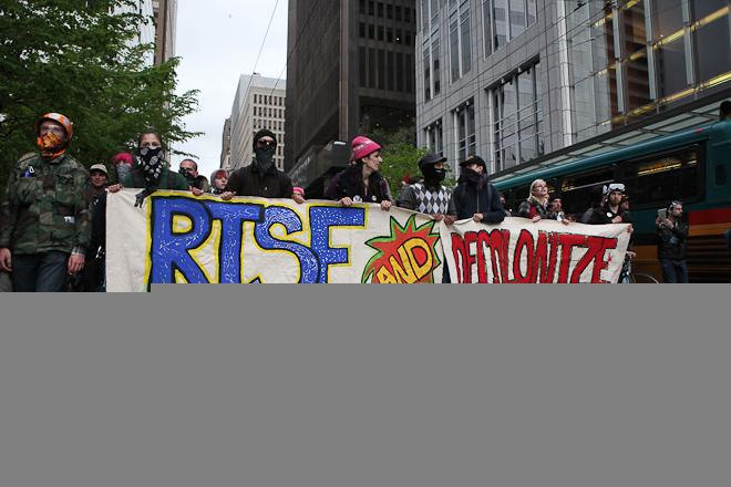 May Day Occupy Seattle