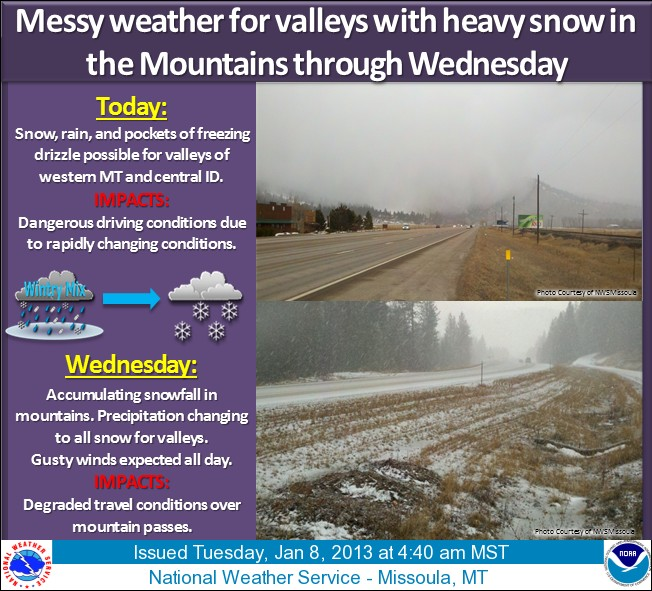 More snow for Western states