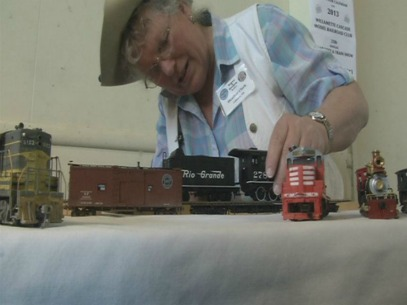 Loco for Locomotives: Model trains on display