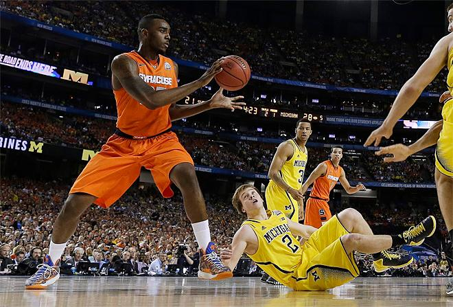 APTOPIX Final Four Syracuse Michigan Basketball