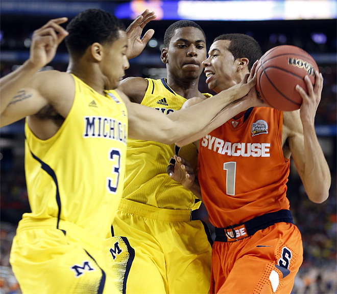 Final Four Michigan Syracuse Basketball