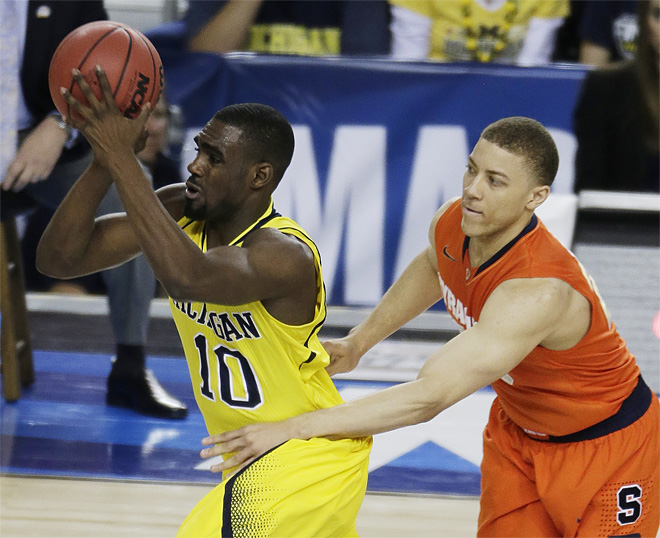 NCAA Final Four Michigan Syracuse Basketball