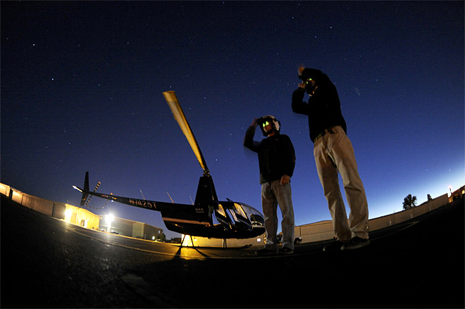Night Flying Training
