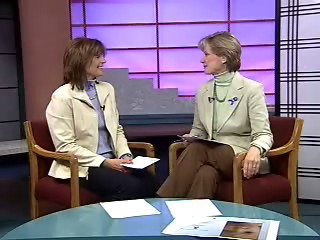 "Irene Alltucker talks about the ""Relief Nursery's Blue Ribbon Campaign"""