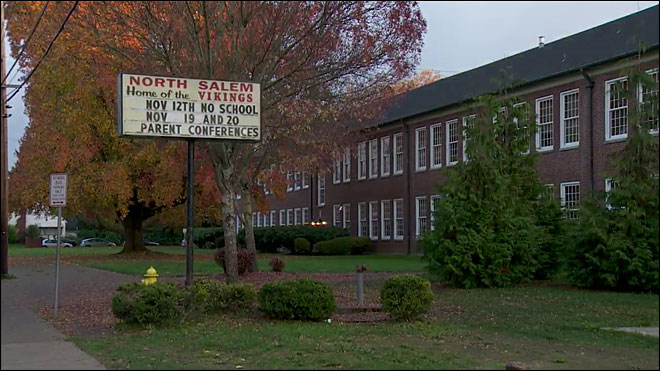 Police: North Salem HS student points gun at classmate