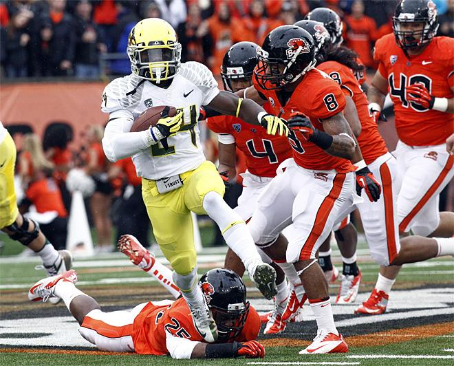 Oregon Oregon St Football