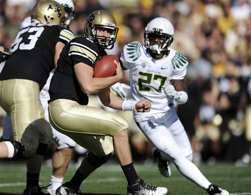 Oregon Colorado Football
