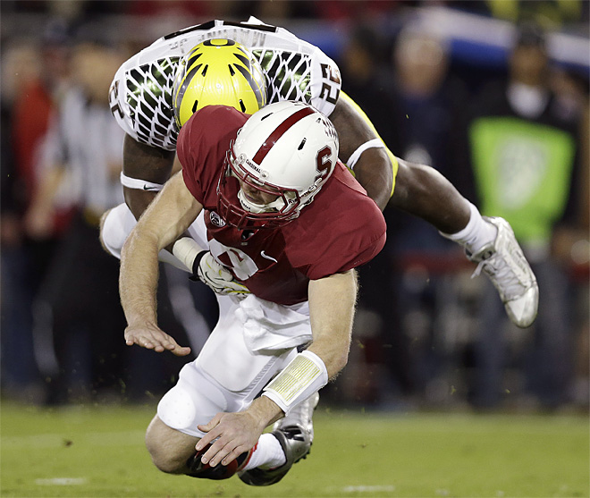 APTOPIX Oregon Stanford Football