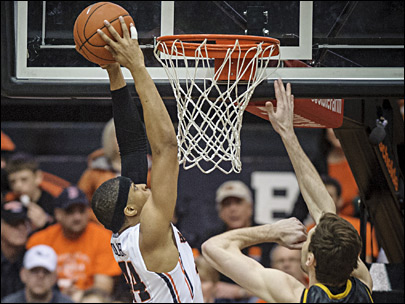 Oregon State holds off Arizona State 78-76 in OT
