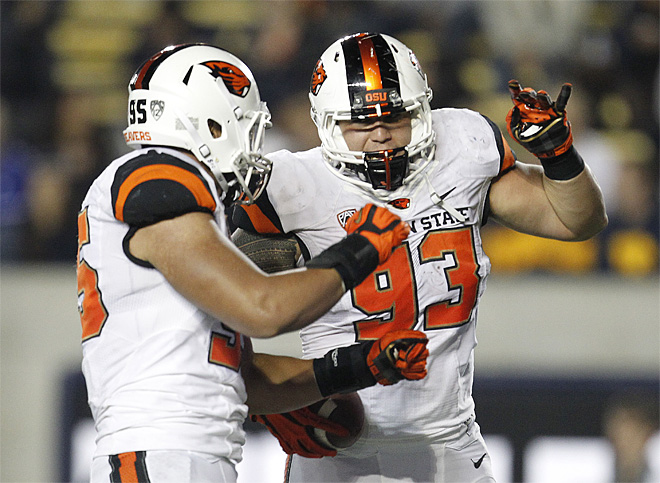 Oregon St California Football