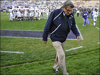 NCAA hits Penn State with $60M fine, bowl ban, wins erased