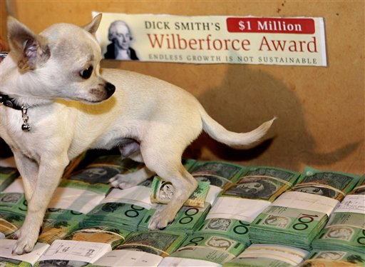 Australia Dick Smith $1Million Award
