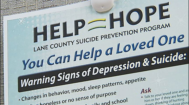 Lane County Suicide Prevention