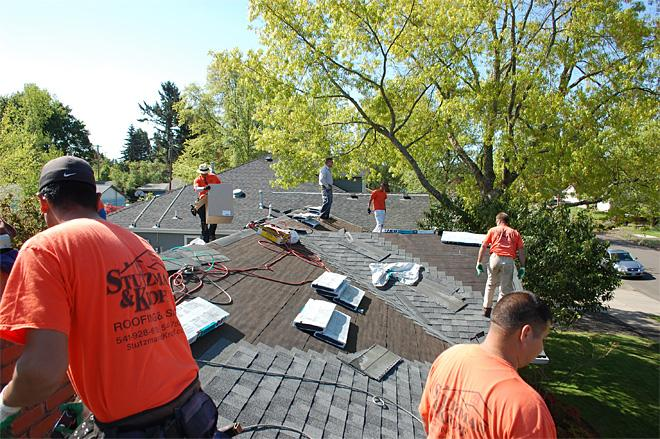 Local company donates roof to complete lifelong project