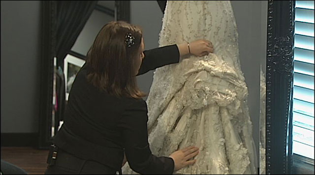 A 'Yes' for a wedding dress