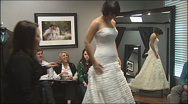 Real reality: Saying 'Yes' to a wedding dress