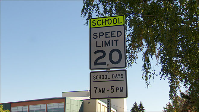 'It's easy to forget the school zones and where they're at'