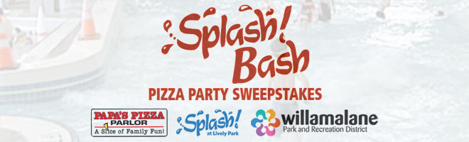Congratulations to the Birthday Bash at Splash! at Lively Park winners!