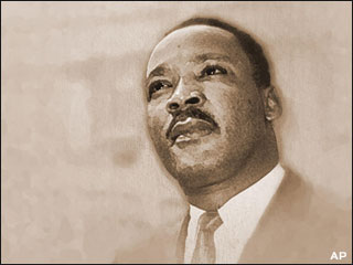 drawing of Martin Luther King Jr.