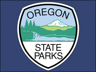 Oregon State Parks sign
