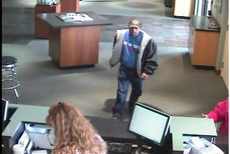 Police release photos of suspected Roseburg bank robber