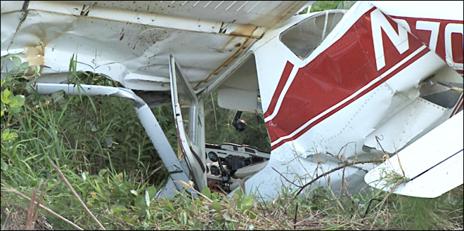 95-year-old pilot crashes small plane in Toledo