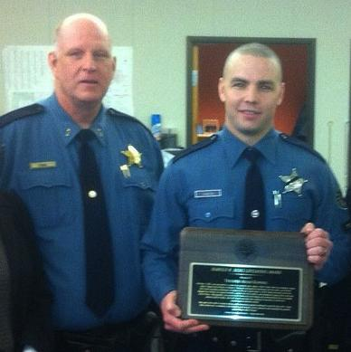 Trooper earns lifesaving award for saving man